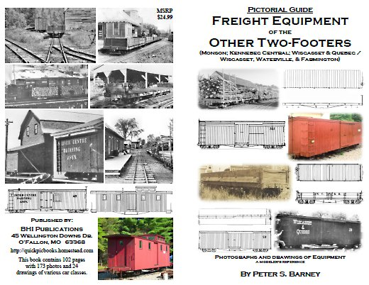 Freight Equipment of the Other Two Footers (including