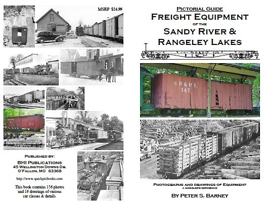 Freight Equipment of the Sandy River and Rangeley Lakes Railroad